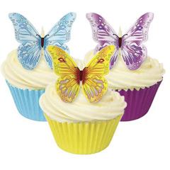 Mariposas comestibles de colores