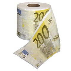 Papel WC 200 €
