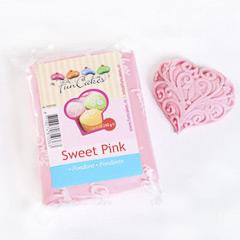 Fondant rosa bebé 250 gramos