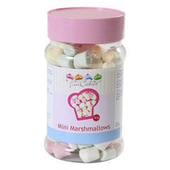 Mini marshmallows multicolor