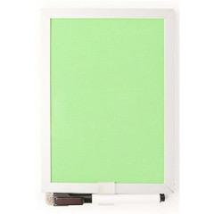 Pizarra magnética verde