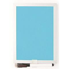 Pizarra magnética azul