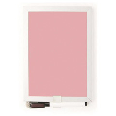 Pizarra magnética rosa