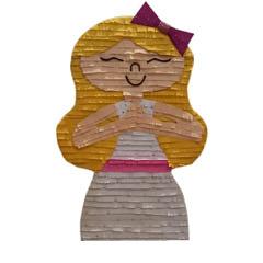 Piñata artesana Comunión Niña