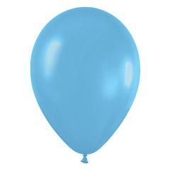 Globos de Látex Azul Caribe. Pack 50 unidades