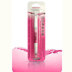 Rotulador comestible rosa dos puntas Rainbow Dust