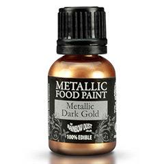 Pintura comestible para repostería oro Rainbow Dust