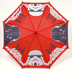 Paraguas infantil Star Wars tela rojo