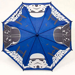 Paraguas infantil Star Wars tela azul