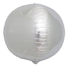 Globo esfera plateado