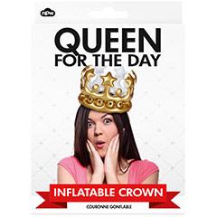 Corona Reina por un día inflable