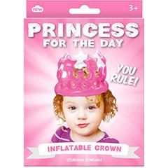 Corona Princesa por un día inflable