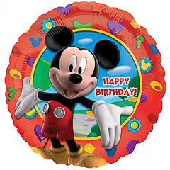 Globo Mickey Mouse Happy Birthday
