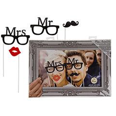 Accesorios Photocall Boda Mrs. & Mr.