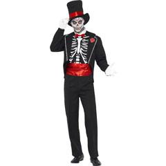 Disfraz esqueleto trajeado
