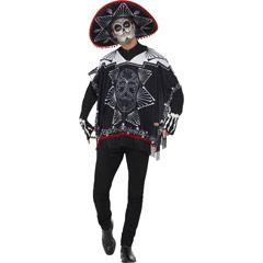 Disfraz bandido día de los muertos