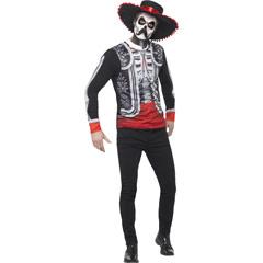 Disfraz El Señor Mejicano Día de los Muertos