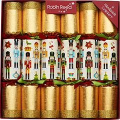 Christmas Squares. Christmas Crackers. 31 cm, Pack 6 u.