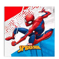 Servilletas Spiderman 33 x 33 cm, Pack 20 u.