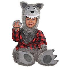 Disfraz lobo infantil