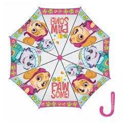 Paraguas Paw Patrol plástico para niña