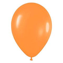 Globos de Látex Naranja. Pack 50 unidades