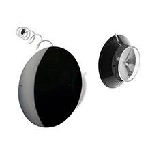 Radio para la ducha modelo UFO negra - Ítem1