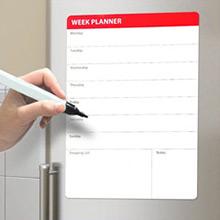 Pizarra magnética calendario semanal con rotulador - Ítem1