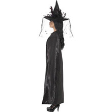 Capa negra bruja o vampiresa - Ítem1