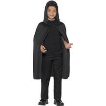 Capa negra con capucha infantil - Ítem2