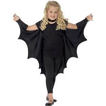 Capa murciélago con alas infantil - Ítem1