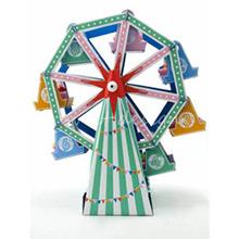 Centro de mesa para cupcakes modelo atracción Noria - Ítem2
