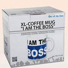 Taza de café I am the boss extra grande - Ítem1