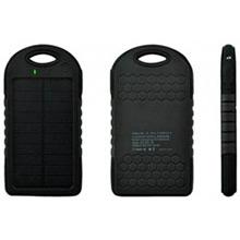 Cargador solar 500 mAh con linterna y mosquetón - Ítem1