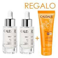 CAUDALIE Vinoperfect Sérum Resplandor Antimanchas 30 ml Duplo, con REGALO Soleil Divin SPF50 40 ml.