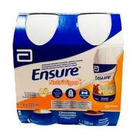 Ensure Nutrivigor Pack 4 botellas de 220 ml sabor chocolate.