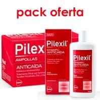Pilexil Ampollas Anticaída, 15x5 ml. + 5 ampollas + Pilexil Champú Anticaída 500 ml.