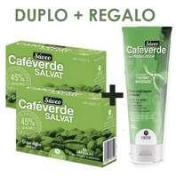 SALVAT SÚVEO Café Verde pack 2 x 60 cápsulas + REGALO Café Verde Lipomodelador Sérum Reafirmante y Reductor, 200 ml