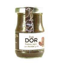 BLACK OLIVE PATE WITH CHOCOLATE AND RUM DOR 140GR