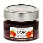 STRAWBERRY JAM JAR WITH MODENA ACETO GOURMET 200GR