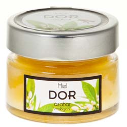 ORGANIC ORANGE BLOSSOM HONEY DOR 150GR.