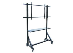 OMB SOPORTE PANTALLA VIDEO TROLLEY LFD CON RUEDAS HASTA 80 Kg