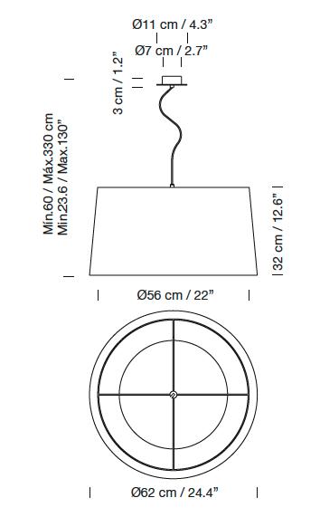 Lámpara GT5