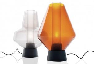 Lámpara Metal Glass