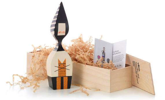 Comprar Muñeca de madera Wooden Dolls, nº 20, diseño de Alexander Girard para Vitra.