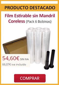 Film Estirable sin Mandril Coreless