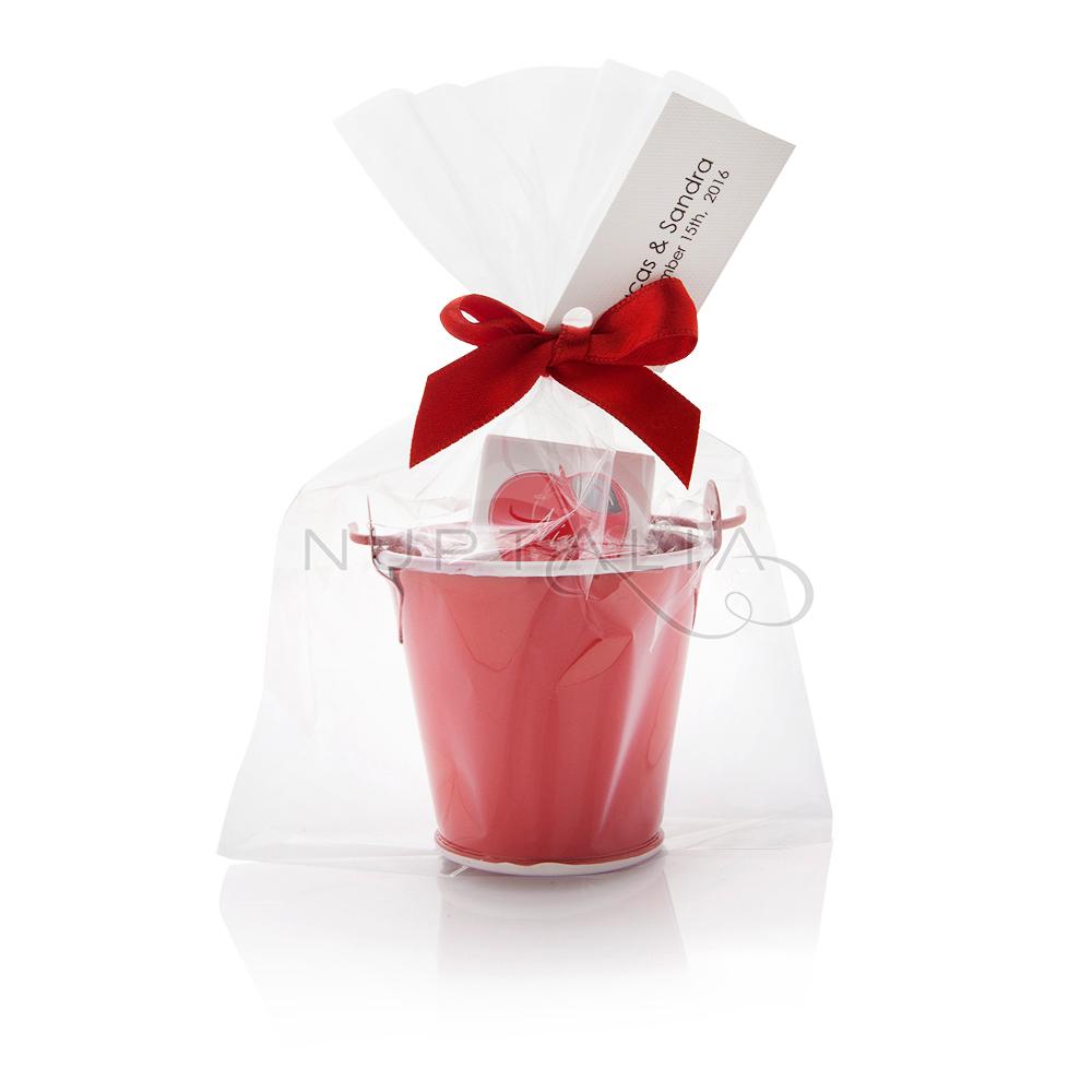 Cubo met lico rojo - Cubo metalico ikea ...