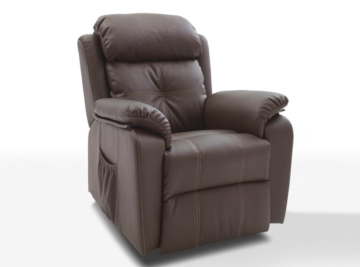 sillon eco-piel, sillon ecopiel, sillon reclinable, sillon con ...