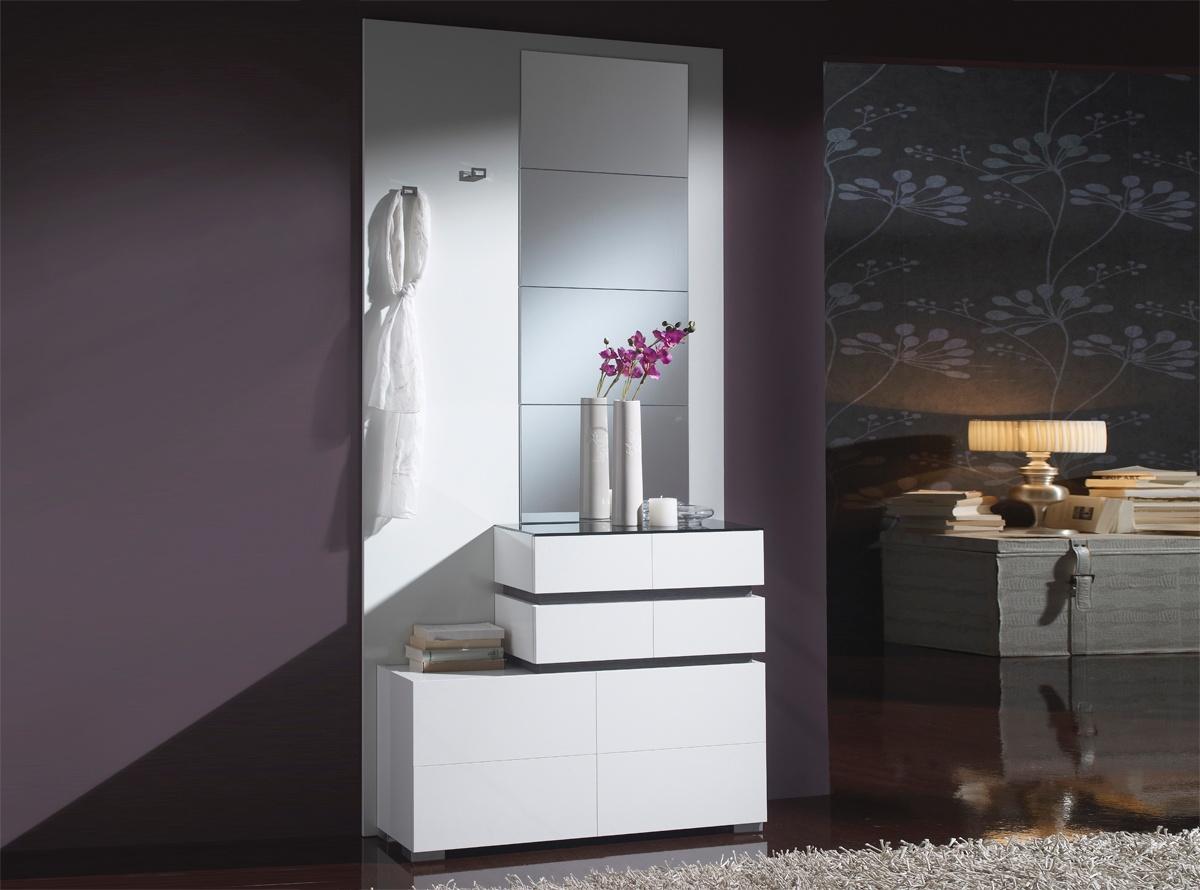 Muebles blanco recibidor 20170821200745 - Muebles la fabrica vic ...