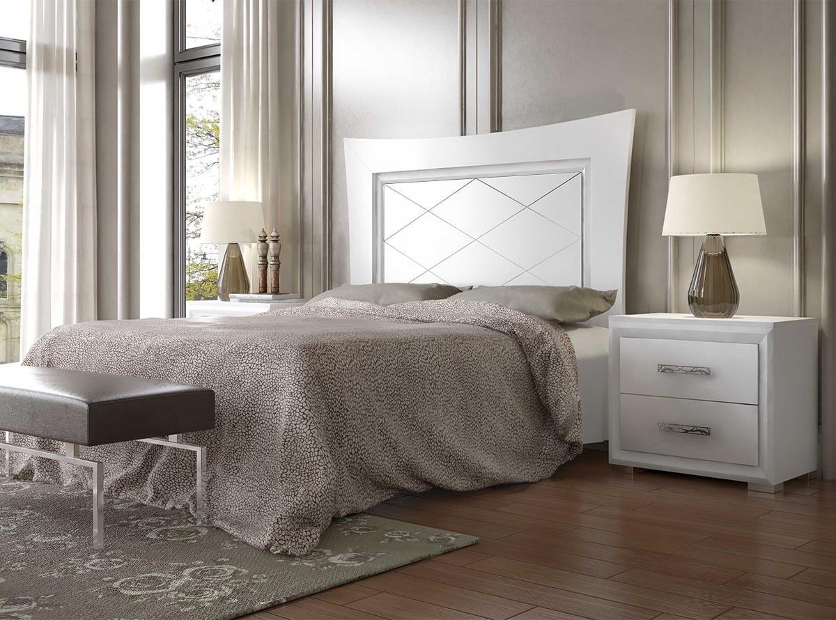 Dormitorio matrimonio flavia b dormitorios muebles la for Dormitorio cabecero blanco